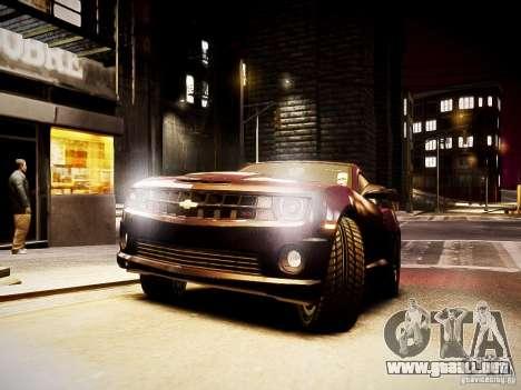 Chevrolet Camaro SS 2010 para GTA 4