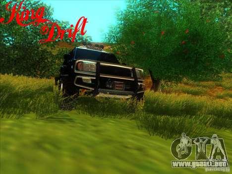 Toyota Land Cruiser v100 para GTA San Andreas vista hacia atrás