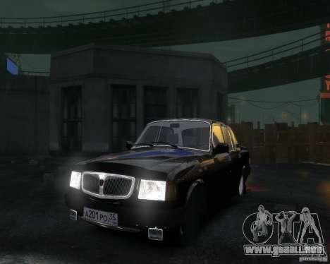 Volga GAZ 3110 para GTA 4 vista lateral