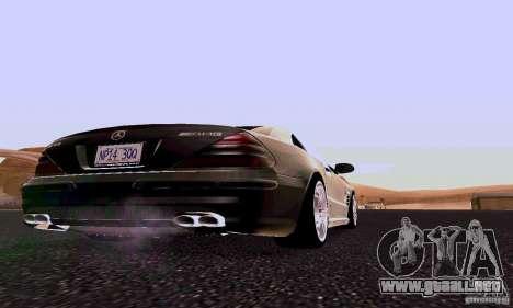 Mercedes-Benz SL65 para la visión correcta GTA San Andreas