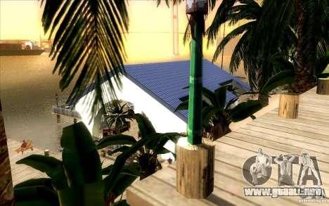 Club de playa para GTA San Andreas segunda pantalla