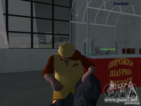 Bandejas de texturas nuevas para GTA San Andreas sucesivamente de pantalla