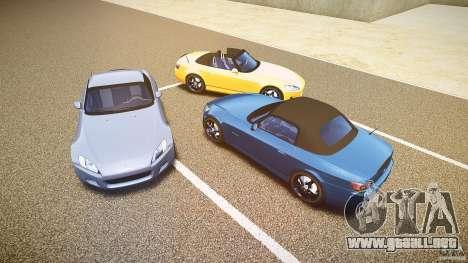 Honda S2000 2002 v2 para un paseo reservado para GTA motor 4