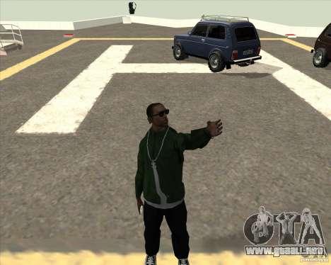 Animación diferente para GTA San Andreas segunda pantalla