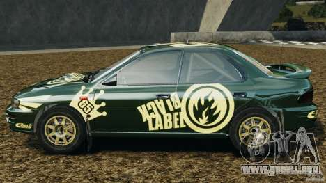 Subaru Impreza WRX STI 1995 Rally version para GTA 4 left