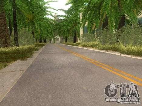 Modification Of The Road para GTA San Andreas sexta pantalla