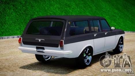 GAZ 24-12 1986-1994 Tuning para GTA 4 vista lateral
