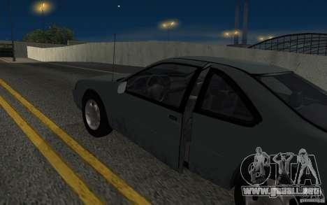 Ford Thunderbird 1993 para visión interna GTA San Andreas