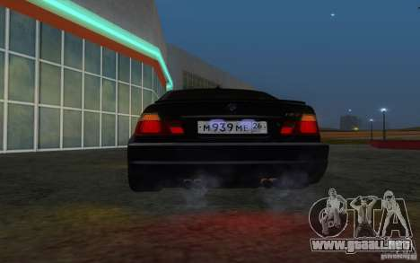 BMW M3 E46 para la vista superior GTA San Andreas