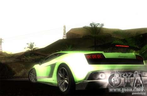 Lamborghini Gallardo LP570-4 Superleggera para GTA San Andreas left