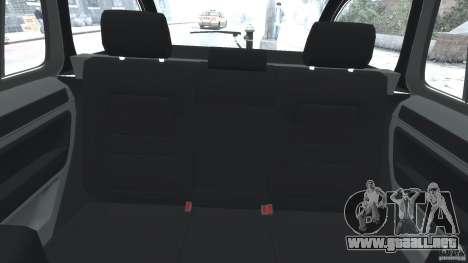Skoda Octavia Scout NYPD [ELS] para GTA 4 vista hacia atrás