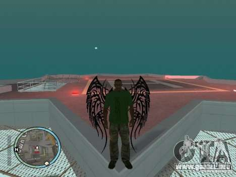 Alas alas para GTA San Andreas segunda pantalla