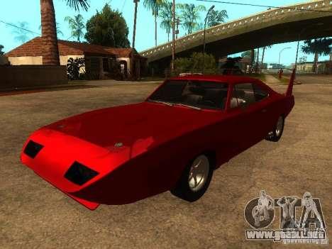 Dodge Charger Daytona Fast & Furious 6 para GTA San Andreas
