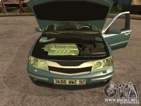 Renault Laguna II para la visión correcta GTA San Andreas