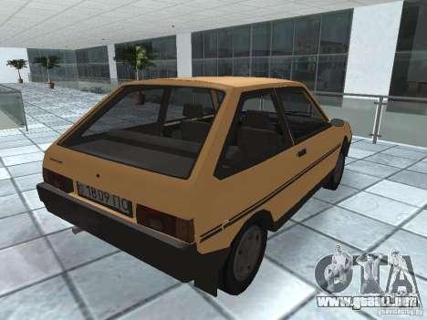 ZAZ Tavria 1103 para la visión correcta GTA San Andreas