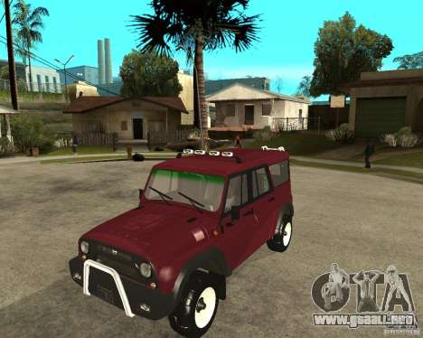 3159-UAZ Hunter (cazador) para GTA San Andreas