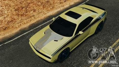 Dodge Rampage Challenger 2011 v1.0 para GTA 4 vista lateral