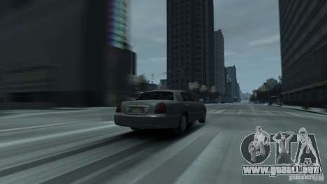 Lincoln Town Car 2003-11 v1.0 para GTA 4 Vista posterior izquierda