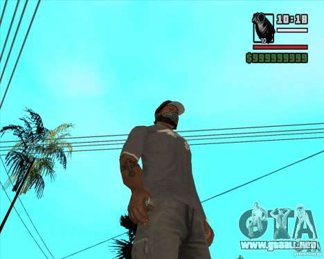 Millenias Weapon Pack para GTA San Andreas twelth pantalla