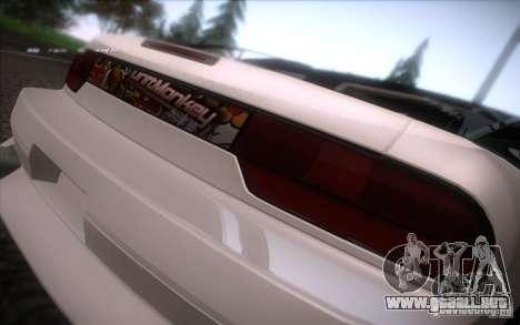 Nissan 240SX DriftMonkey para la visión correcta GTA San Andreas