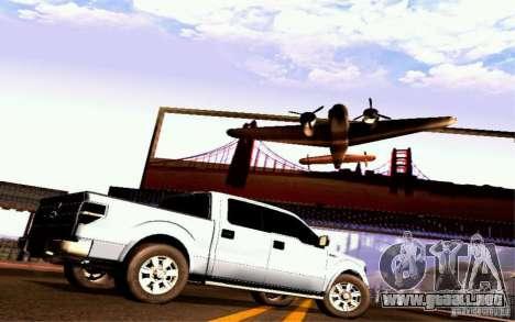 Ford Lobo 2012 para la visión correcta GTA San Andreas