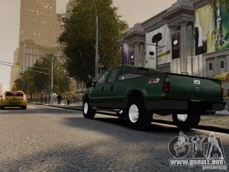 Ford F-250 FX4 2009 para GTA 4 visión correcta
