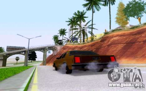 Ford Crown  Victoria LTD 1985 taxi para vista lateral GTA San Andreas
