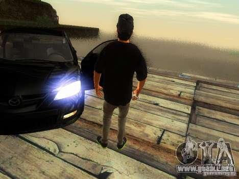 Chico en el FBI para GTA San Andreas sucesivamente de pantalla