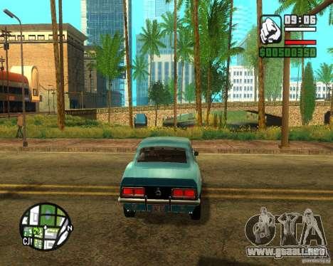 ENBSeries 2012 para GTA San Andreas quinta pantalla