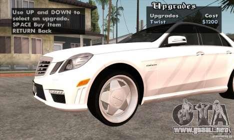 Wheels Pack by EMZone para GTA San Andreas octavo de pantalla