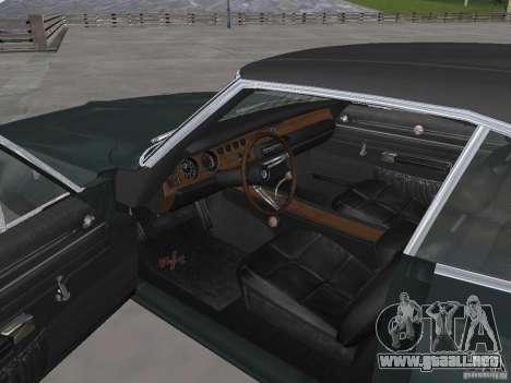 Dodge Charger 1969 para la visión correcta GTA San Andreas