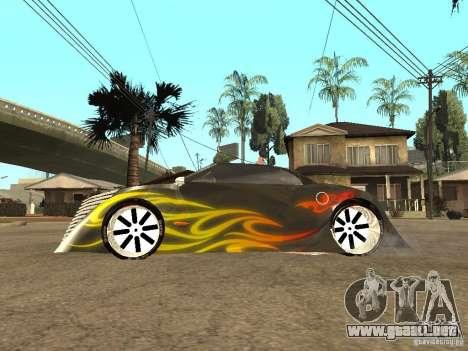 Thunderbold SlapJack para la vista superior GTA San Andreas