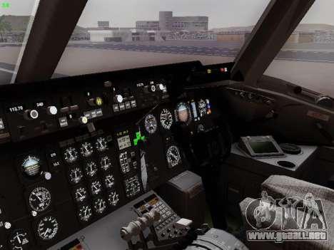 McDonell Douglas DC-10-30 PanAmerican Airways para la vista superior GTA San Andreas
