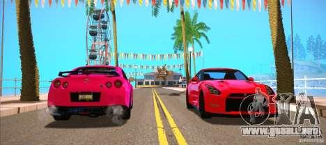ENBSeries for SA-MP para GTA San Andreas sexta pantalla