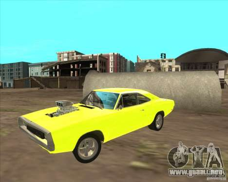Dodge Charger RT 1970 The Fast and The Furious para GTA San Andreas left