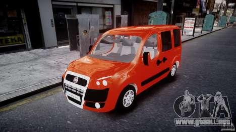 Fiat Doblo 1.9 2009 para GTA 4
