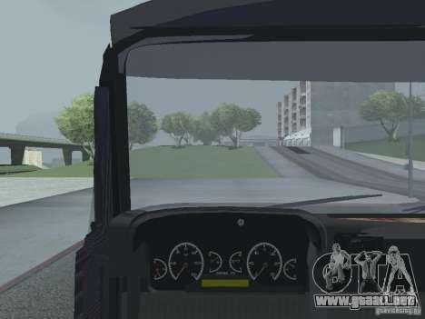 Tablero de instrumentos activos v.3.0 para GTA San Andreas