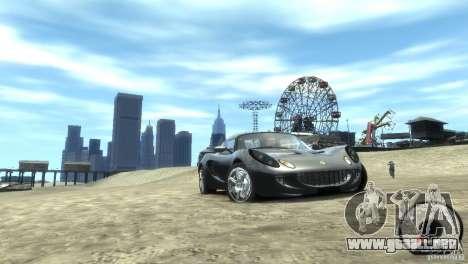 Lotus Elise v2.0 para GTA 4 Vista posterior izquierda