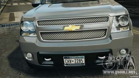 Chevrolet Suburban GMT900 2008 v1.0 para GTA 4 interior