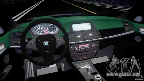 BMW X5 Experience Version 2009 Wheels 214 para GTA 4 visión correcta