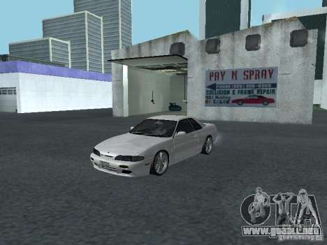 Nissan Skyline R32 Zenki para GTA San Andreas left