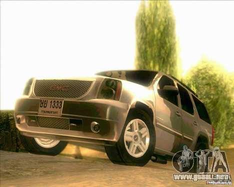 GMC Yukon Denali 2007 para GTA San Andreas