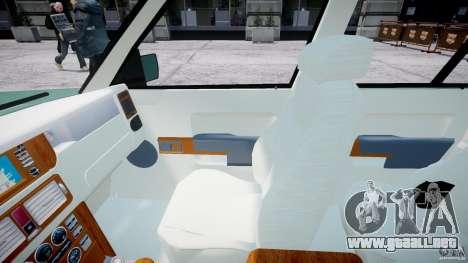 Range Rover Vogue para GTA 4 vista hacia atrás