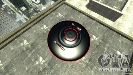UFO neon ufo red para GTA 4 visión correcta