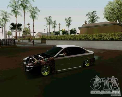 Subaru Legacy JDM para GTA San Andreas left