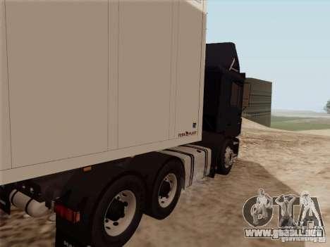 MAN F2000 6x4 para la visión correcta GTA San Andreas