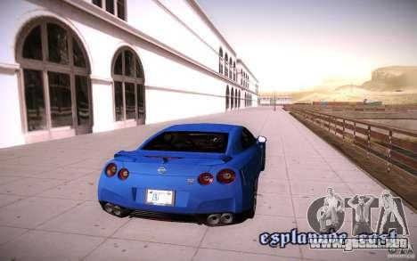 ENBSeries para más débiles PC v2.0 para GTA San Andreas quinta pantalla