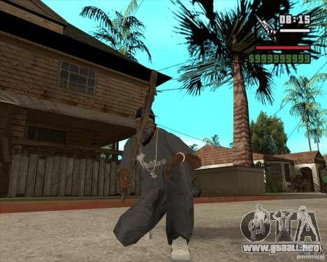 Pak armas de Fallout New Vegas para GTA San Andreas segunda pantalla