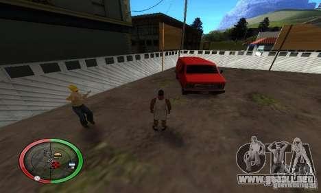 NEW STREET SF MOD para GTA San Andreas sexta pantalla