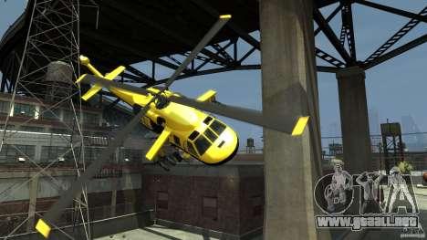 Yellow Annihilator para GTA 4 vista desde abajo